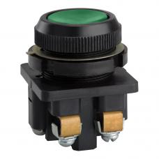 Выключатель кнопочный КЕ 011-У3-исп.1-КЭАЗ (зеленый)