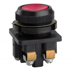 Выключатель кнопочный КЕ 011-У3-исп.1-КЭАЗ (красный)
