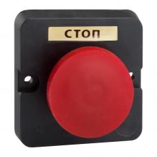 Пост кнопочный ПКЕ 112-1-У3-IP40-КЭАЗ (красный гриб)