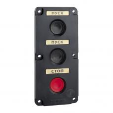 Пост кнопочный ПКЕ 112-3-У3-IP40-КЭАЗ