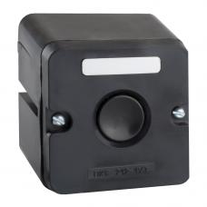 Пост кнопочный ПКЕ 212-1-У3-IP40-КЭАЗ (черная кнопка)