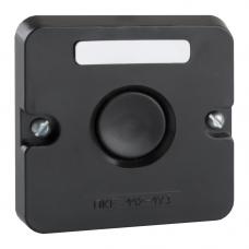 Пост кнопочный ПКЕ 112-1-У3-IP40-КЭАЗ (черная кнопка)