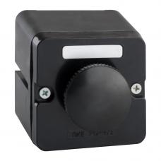 Пост кнопочный ПКЕ 212-1-У3-IP40-КЭАЗ (черный гриб)