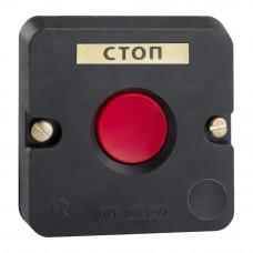 Пост кнопочный ПКЕ 122-1-У2-IP54-КЭАЗ (красная кнопка)