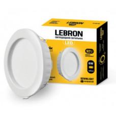 LED світильник LEBRON L-DR-641, 6W, 420Lm, 4100K, вс-ний
