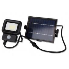 LED прожектор LEBRON LF-10Solar, 10W, LI-Ion 3,7V/2,6Ah, д. движения, ІР65
