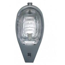 Светильник уличный ABS+PC(ударопр.), серый,  Е27, 490х250x230мм, IP54, УХЛ1, 120° (Кобра)