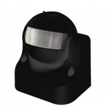 Датчик руху VELMAX V-ІМS-09, AC220-240V, кут 180°, (ST09), чорний