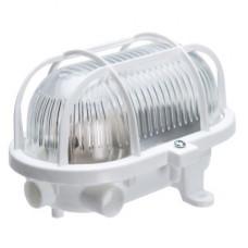 Светильник OВАЛ-7040T/P, стекло-пласт., Е27, 60W, 170х125х115мм, IP54, СВІТ-БУД електро
