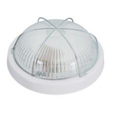 Светильник ЗЕТА, стекло-пласт., Е27, 100W, 245х85мм, IP44, СВІТ-БУД електро, белый