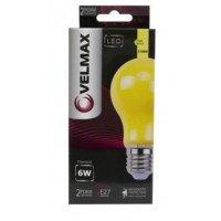 Антимоскитная LED лампа VELMAX V-Filament-A60Mosquito, 6W, E27, 2700K