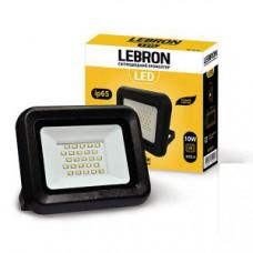 LED прожектор Lebron LF, 10W, 6200K, 900Lm, угол 120 °