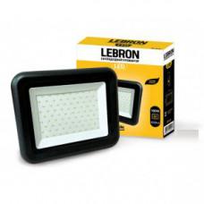 LED прожектор Lebron LF, 100W,  6500K, 8000Lm, угол 120° , 170-265V