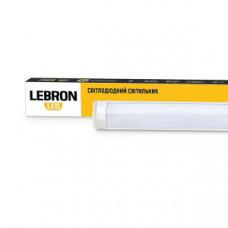 LED св-к LEBRON L-Т8-LP, 18W, 600мм, 4000K, 1350Lm, угол 140 °