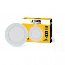 LED св-к LEBRON L-PR-341, 3W, встроенный, Ø88 * 19mm, 4100K, 210Lm, угол 120 °