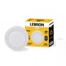 LED св-к LEBRON L-PRS-641, 6W, нак-ный, O120 * 36mm, 4100K, 420Lm, угол 120 °