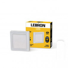 LED св-к LEBRON L-PSS-1841, 18W, нак-ный, 220 * 220 * 36mm, 4100K, 1260Lm, угол 120 °