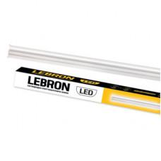 LED светильник LEBRON L-T5-AL, 12W, 4100K, 1050Lm, 900мм, сетевой шнур