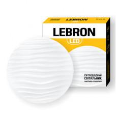 LED светильник LEBRON L-CL-TWIST, 18W, 4100K, 1260Lm, O260mm