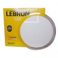 LED св-к LEBRON L-CL-GALAXY, max 45W, 3000K, 4100K, 6500K, 3200Lm, O455*75mm
