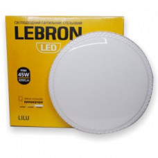 LED св-к LEBRON L-CL-LILU, max 45W, 3000K, 4100K, 6500K, 3200Lm, O390*80mm