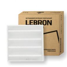 LED светильник LEBRON L-LPU-Prismatic, 36W, унив., 595*595mm, 4000K, 3000Lm, 4шт