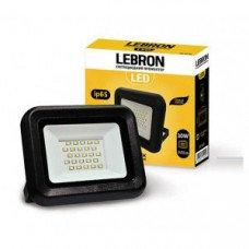 LED прожектор Lebron LF, 30W, 6200K, 2700Lm, угол 120 °
