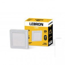LED св-к LEBRON L-PSS-1241, 12W, нак-ный, 170 * 170 * 36mm, 4100K, 850Lm, угол 120 °