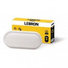 LED св-к LEBRON L-WLO-S, 8W, овал, 4100K, 720Lm, ІР54, СВЧ д.р.