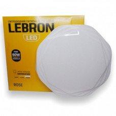 LED св-к LEBRON L-CL-ROSE, max 60W, 3000K, 4100K, 6500K, 4200Lm, O510*80mm