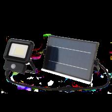 LED прожектор LEBRON LF-20Solar, 20W, LI-Ion 3,7V/5,2Ah, д. движения, ІР65