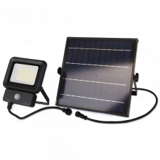 LED прожектор LEBRON LF-30Solar, 30W, LI-Ion 3,7V/7,8Ah, д. движения, ІР65