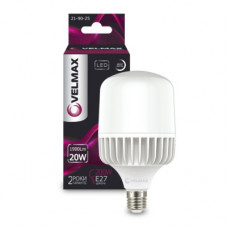 LED лампа VELMAX V-A65, 20W, Е27, 4100K, 1900Lm
