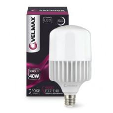 LED лампа VELMAX V-A100, 40W, Е27-E40, 6500K, 3600Lm.