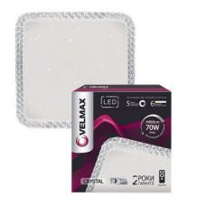LED св-к VELMAX V-CL-CRYSTAL-s, 70W, smart, 3000K-6500K, 4900Lm, пульт ДК