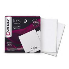 LED св-к VELMAX V-UPS, 36W, панель, 595 * 595mm, 6200K, 3200Lm, с блоком питания