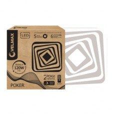 LED светильник VELMAX V-CL-POKER, 120W, smart, 3000K-6500K, 8500Lm, пульт ДУ