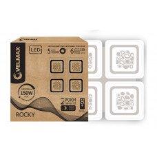 LED св-к VELMAX V-CL-ROCKY, 150W, smart, 3000K-6500K, 10500Lm, пульт ДК