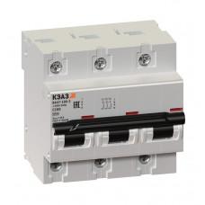 Автоматический выключатель ВА47-100-3С80-УХЛ3 КЭАЗ