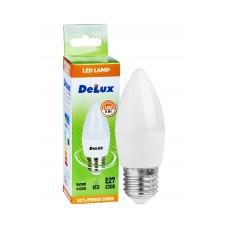 Лампа светодиодная DELUX BL37B 5 Вт 4100K 220В E27 белый