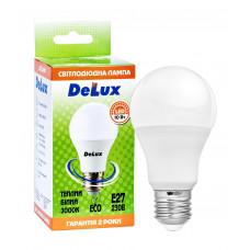Лампа светодиодная DELUX BL60 10Вт 3000K Е27 теплый белый