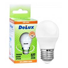 Лампа светодиодная DELUX BL50P 7 Вт 2700K 220В E27 теплый белый