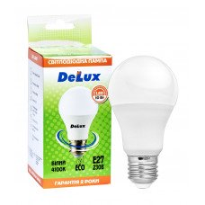Лампа светодиодная DELUX BL60 10Вт 4100K Е27 белый
