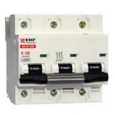 Выключатель автоматический ВА 47-100 3Р 100А 10 кА