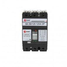 Автоматический выключатель ВА 99-125 125А (аналог ВА88-32  3Р  125А  25кА IEK)