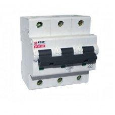 Выключатель автоматический ВА47-125 3Р 125А 15 кА С