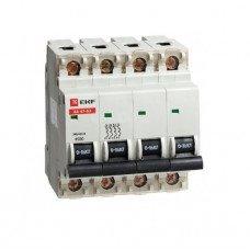Автоматический выключатель ВА 47-63 4P 10А 4,5 кА (аналог ВА 47-29)
