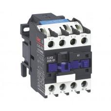 Контактор электромагнитный CJX2-2501, АС-3 380В (11 кВт), 25A, (серебро 85%), CNC