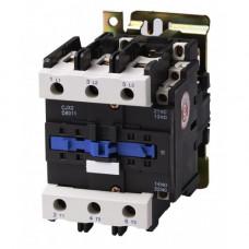 Контактор электромагнитный CJX2-8011, АС-3 380В (37 кВт), 80A, CNC