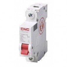 Модульный автоматический выключатель YCB6Н-63, 1Р, 10А, 4,5kA, тип С, CNC